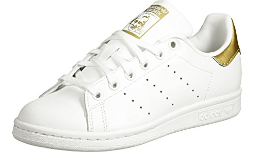 adidas Stan Smith J W Scarpa white/gold