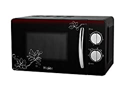 Haier 20 L Solo Microwave Oven (HIL2001MFPH, Black)