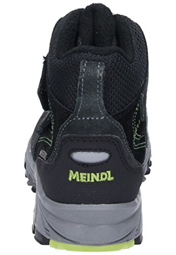 MEINDL Jungen Stiefel Polar Fox Junior lemon/anthrazit, 680246-9 anthrazit