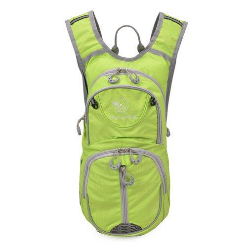 TBB-Pack zaino borsa alpinismo double borsa a tracolla outdoor equitazione sport viaggi leisure Bag,rosso Green