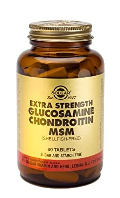 Extra Strength Glucosamine Chondroitin MSM (Shellfish-free) - 60 - Tablets (Multi Pack) by Solgar