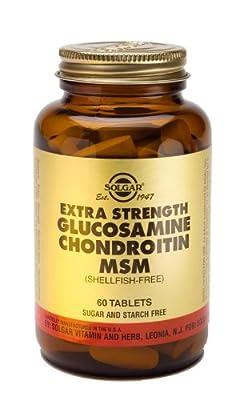 Extra Strength Glucosamine Chondroitin MSM (Shellfish-free) - 60 - Tablets (Multi Pack)