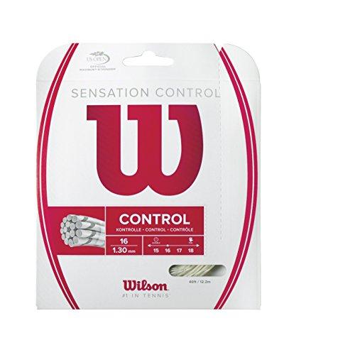 Wilson WRZ941200 Corde per Racchetta da Tennis, Trasparente