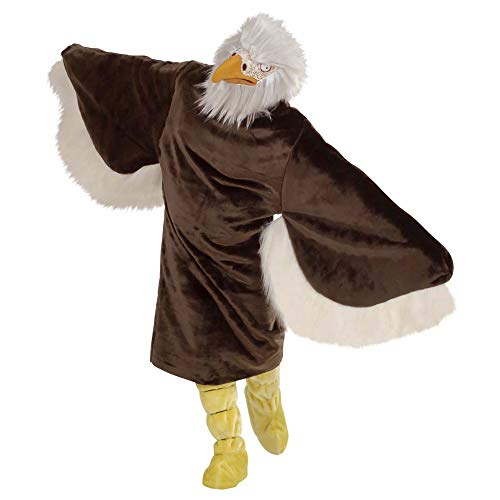 WIDMANN 4488E - Erwachsenenkostüm Adler, Kostüm, Stiefelüberzieher, Maske
