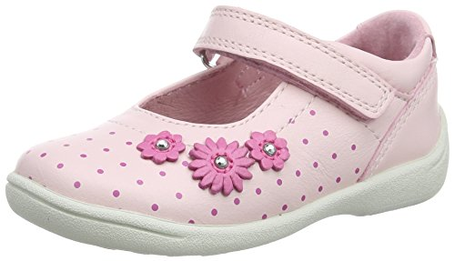 Start Rite Super Soft Daisy Large, Mary Jane Fille Rose (Pink)