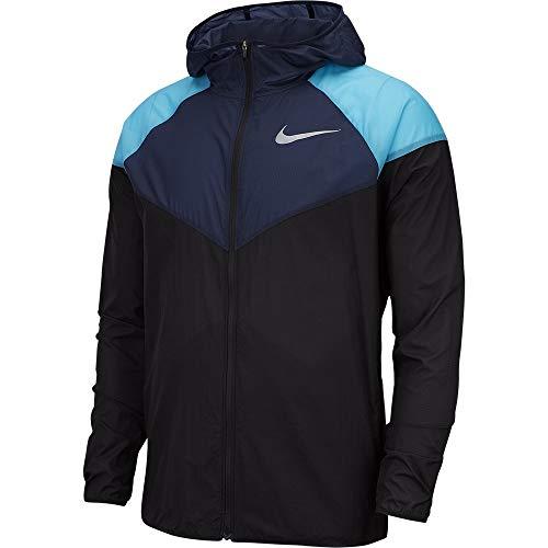 arrives f141b 65b1e Nike M NK Windrunner Jacket, Hombre, ObsidianBlackreflectiv, M
