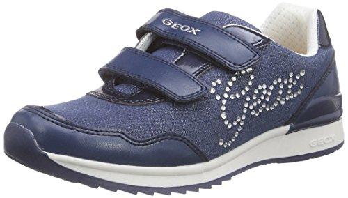 Geox J Maisie Girl C Mädchen Low-Top Blau (AVIOC4005)