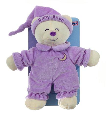"""Gipsy 070112 - Peluche per neonato """"Baby Bear"""" da 24 cm, colore: Viola mammola"""