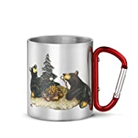 Big Sky Carvers Campfire Memories Carabiner Mug, Multicolor by Big Sky Carvers