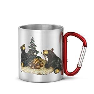 Big Sky Carvers Campfire Memories Carabiner Mug, Multicolor by Big Sky Carvers