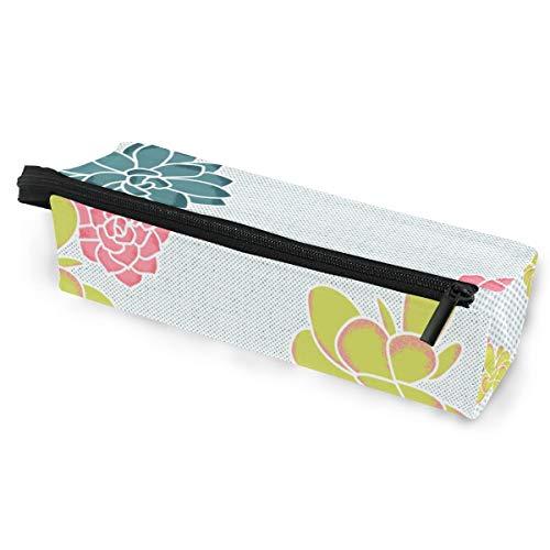 Sonnenbrille Fall Stift Federmäppchen einfache Blume kleines Muster Schreibwaren Beutel Aufbewahrungsbox Kosmetiktaschen Brillen Tasche mit Aufhängeöse