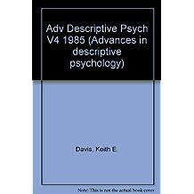 Advances in Descriptive Psychology