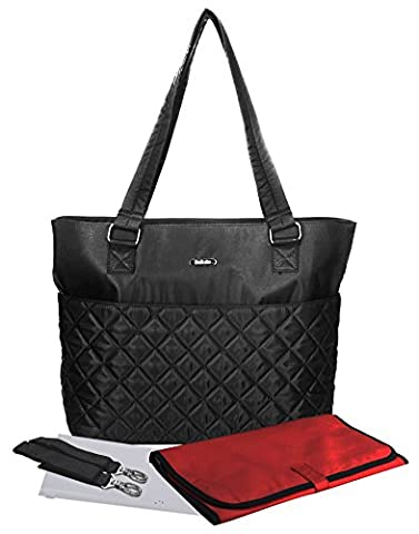 Bellotte Baby Changing Bag with Baby Waterproof Nappy Changing Mat & Stroller Straps