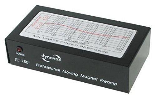 Vorverstärker Phono Dynavox MM Systeme TC 750 Schwarz