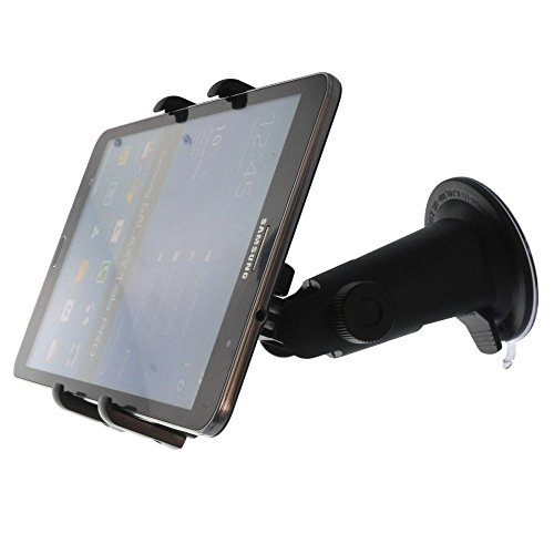 Smart-Planet® Tablet Halterung - Autohalterung für die Scheibe / KFZ Halterung für Tablet PC vibrationsfrei - für ALLE Tablet PCs, Navis , Handys bis zu 10,5 - 20,5 cm Breite oder Höhe