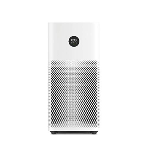 Xiaomi Mi Air Purifier 2s EU version - Purificador de aire, conexión WiFi y pantalla display, para estancias hasta 37m2, 310m3/h, color blanco