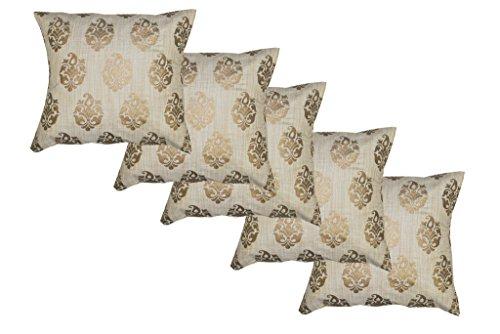 Durable Dupian Silk jacquard Decorative Square Throw Pillow Cover Cushion Case Sofa...