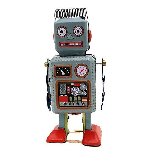 Dapei Kinder Spielzeug Wei/ßblech Uhrwerk Kette Spielzeug Fotografie Prop Roboter Puppe MS294 Intelligentes und p/ädagogisches Spielzeug