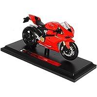 Maisto Ducati 1199 Panigale Rot Ab 2011 Mit Sockel 1/18 Modell Motorrad mit oder ohne individiuellem Wunschkennzeichen