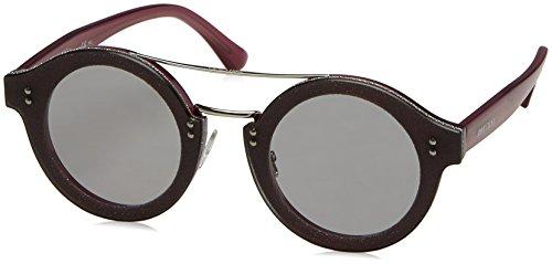 Jimmy Choo Damen MONTIE/S VB 18C 64 Sonnenbrille, Violett (Plumglttr Pd/Lt Grey Ar),