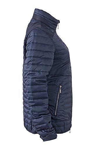 James & Nicholson Veste Lightweight pour femme Vestes Bleu marine/gris