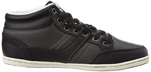 British Knights RE-STYLE MID UOMINI ALTE SNEAKERS Grigio scuro/Nero