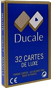 Ducale Jeu de 32 cartes gauloise Jeu de cartes