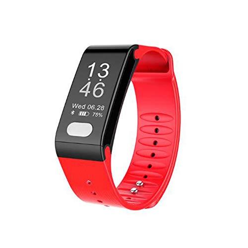 ACTIVITY TRACKER T6 Fitness Armband,Pulsuhr Herzfrequenz/Blutdruck / Schlafüberwachung, EKG + PPG, Schrittzähler Smart Uhr Kinder Frauen Und Männer