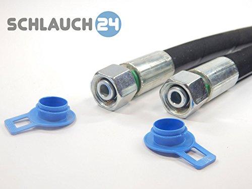Hydraulikschlauch 2SN DN 10 - NW10-12L ? DKOL - DKOL 1900 mm