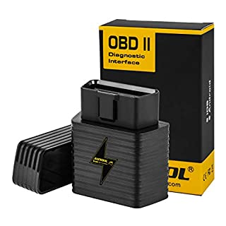 AUTOOL OBD2 OBDII Scanner Wifi Adapter (2019 NEWEST), ELM327 OBD2 Reader Car Diagnostic Scanner for Android IOS Engine Code Reader For Diesel Petrol Car