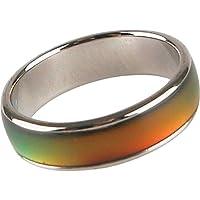 خاتم سحري للجنسين يتغير لونه بتغير المزاج - مقاس 8