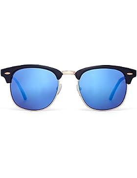 Gafas de Sol Retro Semi Mitad Si