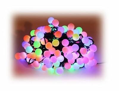 150er LED Farbwechsler Lichterkette für innen und außen geeignet