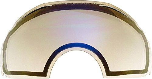 Lentes de repuesto para Oakley Airbrake gafas para la nieve, Clear Mirror