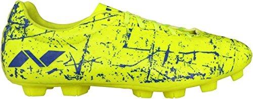 Nivia Encounter Football Shoes (Yellow/blue,size 3 Uk
