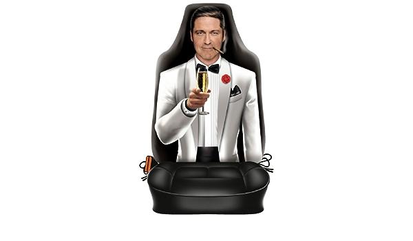 Sabuy Auto Sitzbezug Gentleman Im Smoking Lustiger Sitzbezug Mit Fotodruck Motiv Ein Hingucker Mit Humor Für Ihr Auto Auto