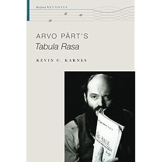Arvo Pärt's Tabula Rasa (Oxford Keynotes)
