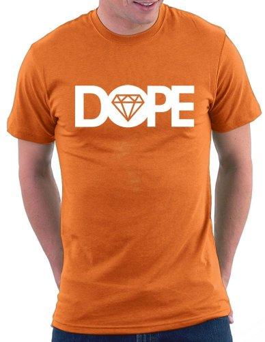 Dope Diamond T-shirt Orange