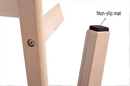 JdⓇ sgabello alto in legno sgabello alto in legno sgabello da