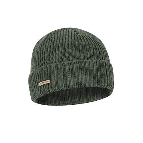 Helikon-Tex Wanderer Cap Mütze - Merinowolle - Olive Green Watch Cap