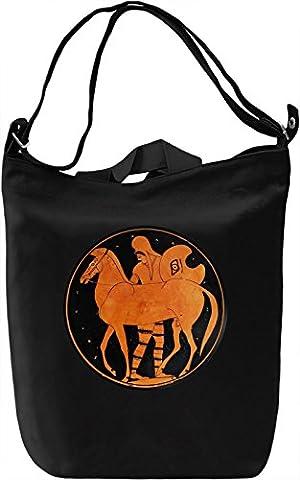 Ancient greek art Canvas Bag Day Canvas Day Bag| 100% Premium Cotton Canvas| DTG Printing|