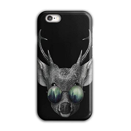 Hirsch Brille Wild Tier Wild Hirsch iPhone 6 / 6S Hülle | Wellcoda