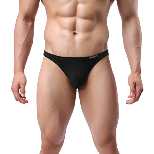 Boxershorts Pagacat Männer Unterhosen Lässig Elatische Weiche slip Dreieck Unterwäsch Kurze Reizwäsche mit 4er Pack für S-XXL Schwarz und Weiß