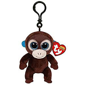 "Beanie Boos Ty Boos 3"" Key Clip - Olga the Monkey"
