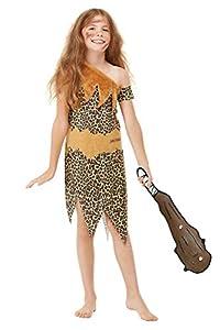 Smiffys 48776L Disfraz de cueva de historias horribles con licencia oficial, unisex para niños, marrón, L - Edad 10 - 12 años