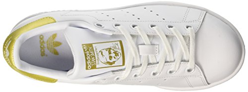 adidas Stan Smith, Sneaker a Collo Basso Unisex – Bambini Bianco (Footwear White/footwear White/gold Metallic)