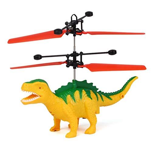 Omiky® Fliegende Dinosaurier LED Mini Induktion Suspension RC Flugzeuge fliegen Spielzeug Drohne (B)