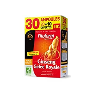 Ginseng - Gelée Royale Bio Fitoform