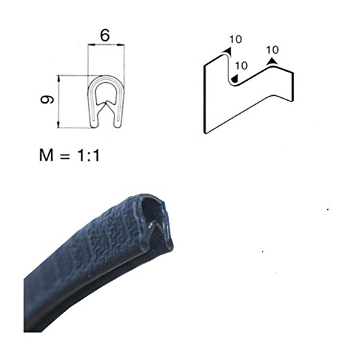 6-lunghezze-da-134-eur-m-edge-protezione-05-15-mm-profili-in-gomma-u-profilo