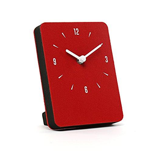 dboard Ultra Light Felt Clock 7 Options (Red) ()